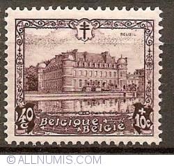 Image #1 of 40+10 Centimes 1930 - Castle of Beloeil