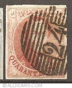 Image #1 of 40 Centimes 1858- Leopold I