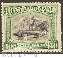 Image #1 of 40 Centimes 1915 - Church Notre Dame - Dinant