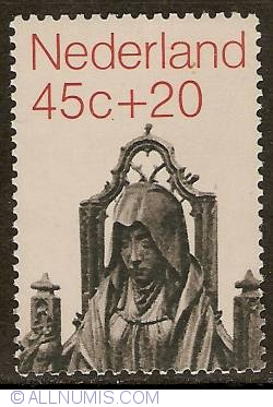 Image #1 of 45 + 20 Cent 1971 - Anne te Drieën