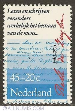 Image #1 of 45 + 20 Cent 1978 - Belle van Zuylen