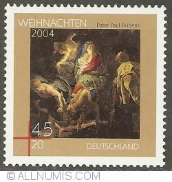 Image #1 of 45 + 20 Euro Cent 2004 - P.P. Rubens - The Flight to Egypt