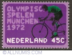 Image #1 of 45 Cent 1972 - Olympics '72 - Cyclist