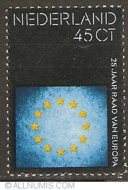 Image #1 of 45 Cent 1974 - 25 years of European Council