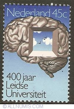 Image #1 of 45 Cent 1975 - 400th Anniversary of University Leiden
