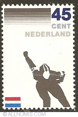 Image #1 of 45 Cent 1982 - Royal Dutch Skate Union
