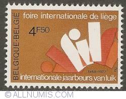 Image #1 of 4,50 Francs 1973 - International Fair of Liege