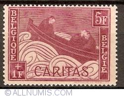 Image #1 of 5+1 Francs 1927 - Caritas - Boat