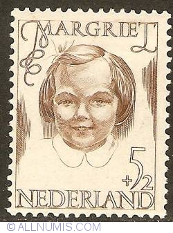 5 + 2 Cent 1946 - Princess Margriet