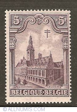 Image #1 of 5+5 Francs 1928 - University Library - Leuven