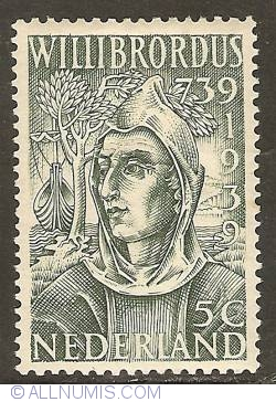 Image #1 of 5 Cent 1939 - St. Willibrord