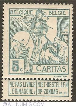 Image #1 of 5 Centimes 1910 - Anthony van Dijck - Saint Martin