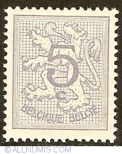 Image #1 of 5 Centimes 1951 - Heraldic Lion