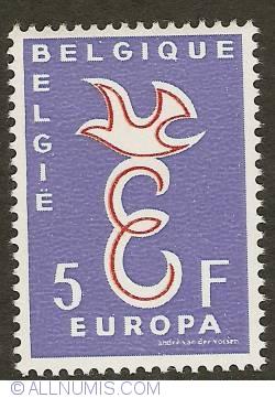 Image #1 of 5 Francs 1958