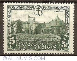 Image #1 of 5+5 Francs 1930 - Castle of Gaasbeek