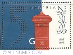 Image #1 of 5 Gulden 1999 - 200 Years of Dutch Post