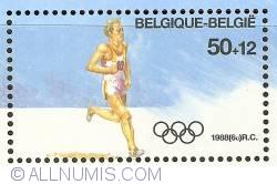 Image #1 of 50 + 12 Francs 1988 - Olympics Seoul - Marathon
