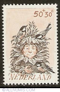Imaginea #1 a 50 + 30 Cent 1982 - Child and Coal Tit