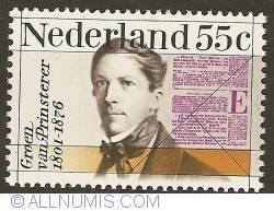 Image #1 of 55 Cent 1976 - Guillaume Groen van Prinsterer