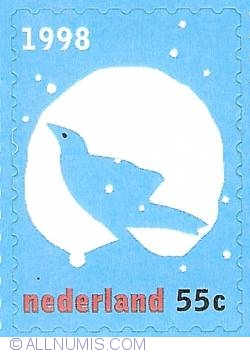 Image #1 of 55 Cent 1998 - December Stamps - Bird