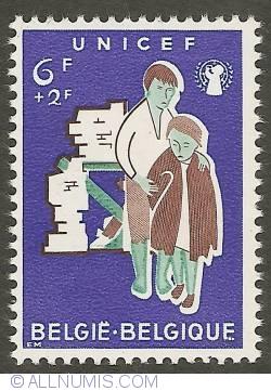 Image #1 of 6 + 2 Francs 1960 - UNICEF