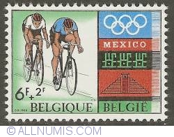 Image #1 of 6 + 2 Francs 1968 - Cycling