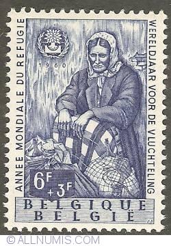 Image #1 of 6 + 3 Francs 1960 - World Refugee Year