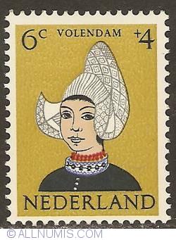 Image #1 of 6 + 4 Cent 1960 - Costume of Volendam