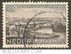 Image #1 of 6 Cent 1934 - 300 Years Netherlands - Curaçao