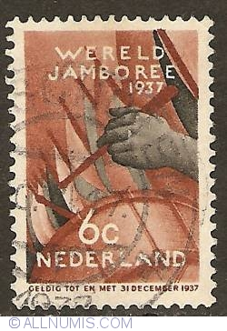 Image #1 of 6 Cent 1937 - Scouting - Jambore