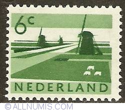 Image #1 of 6 Cent 1962 - Landscape with Mills