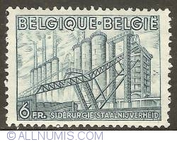 Image #1 of 6 Francs 1949 - Steel Industry