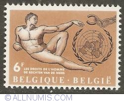 Image #1 of 6 Francs 1962 - Human Rights