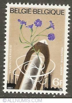 Image #1 of 6 Francs 1967 - Flax