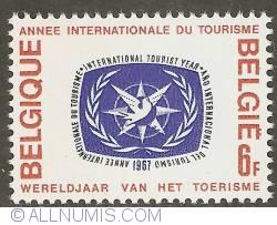 Image #1 of 6 Francs 1967 - World Year of Tourism