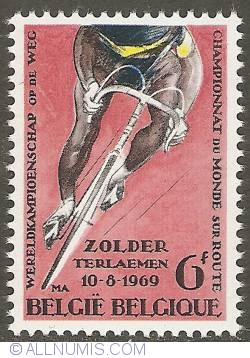 Image #1 of 6 Francs 1969 - World Championships Cycling