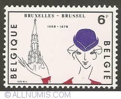 Image #1 of 6 Francs 1978 - Brussels