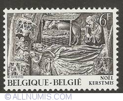 Image #1 of 6 Francs 1978 - Nativity Scene