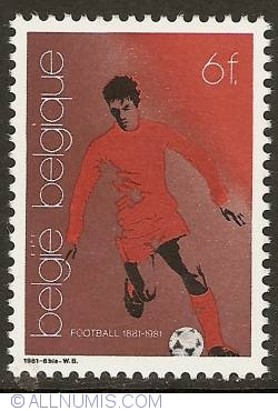 Image #1 of 6 Francs 1981 - Soccer