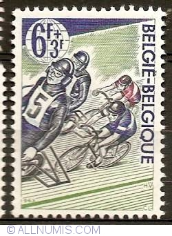Image #1 of 6+3 Francs 1963 - Cycling