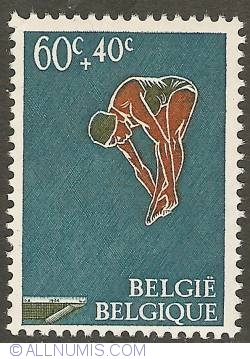 Image #1 of 60 + 40 Centimes 1966 - Diving