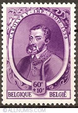 Image #1 of 60+10 Centimes 1941 - Charles V