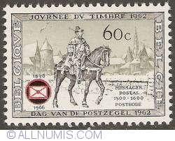 Image #1 of 60 Centimes 1966 - Postman