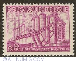 Image #1 of 6,30 Francs 1948 - Steel Industry