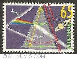 Image #1 of 65 Cent 1988 - Newton and Huygens