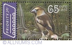 Image #1 of 65 Eurocent 2005 - Hawfinch