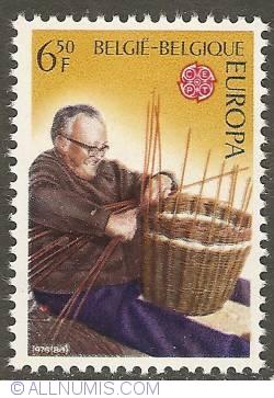 Image #1 of 6,50 Francs 1976 - Basket Weaver
