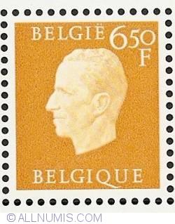 Image #1 of 6,50 Francs 1976 - Silver Jubilee King Baudouin