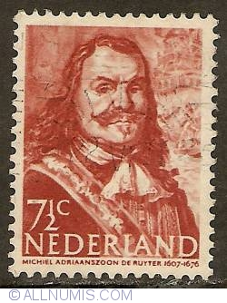 Image #1 of 7 1/2 Cent 1943 - Michiel De Ruyter