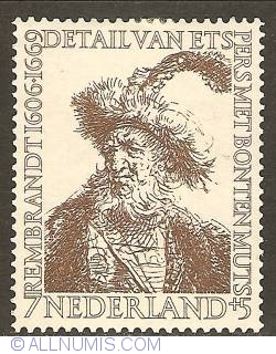 Image #1 of 7 + 5 Cent 1956 - Rembrandt - Persian with Fur Cap